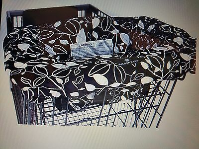 Balboa baby shopping cart cover black and white