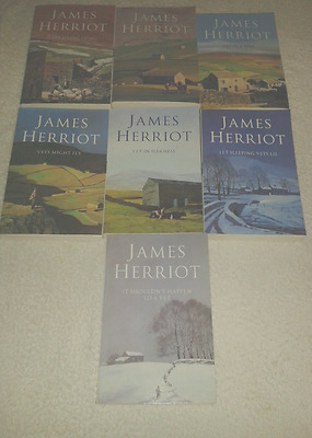 The Complete James Herriot Box Set 1-8 Collection 8 Books Set By James Herriot