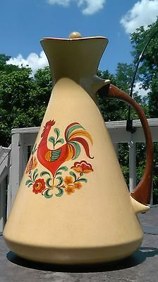 Reveille Rooster Carafe by Taylor Smith & Taylor- Mid-Century Dinnerware