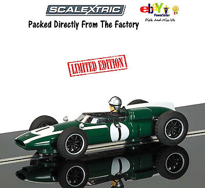 Scalextric Slot Car Legends Cooper Climax - Jack Brabham  C3658A
