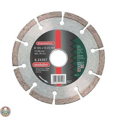 Metabo 624307000 - Disco Di Taglio Diamantato Promotion 125 X 22,23 Mm Nuovo