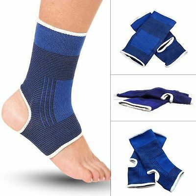 2Pcs Elastic Ankle Support Compression Socks Sports Relief Feet Protector