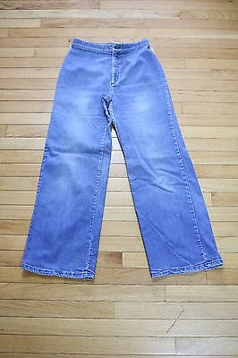 Vintage 70s Women's Levi's Orange Tab Wide Leg High Waist Jeans
