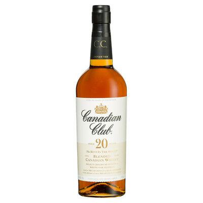 Canadian Club 20 Years Old Premium Aged Select Whisky 750Ml Boxed