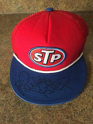 Richard Petty Autographed / Signed 2016 Throwback #43 STP Hat