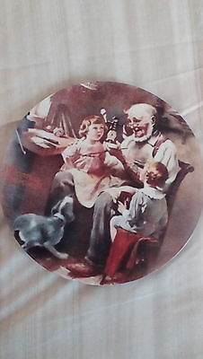""""""" The Toy Maker"""" """" Norman Rockwell Knowles plate Number 12994AB"""