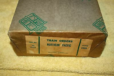 SEALED Pack 10 Pads Northern Pacific Train Order Forms RARE FIND!