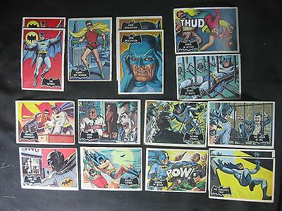 CG39,54 Different Batman Cards,Periodical 1966 Issues,Movie Issues And Others