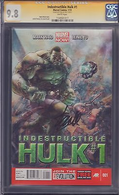 Indestructible Hulk #1 CGC Signed by Stan Lee 9.8!