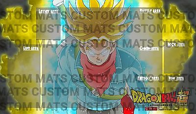 Dragon Ball Super Card Game Play Mat, Custom/BEGINNERS TEMPLATE if wanted!