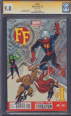 FF #1 CGC Signed by Stan Lee 9.8!