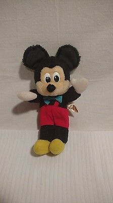 Vintage Mickey Mouse Plush from Applause toys