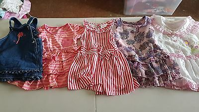 Girls Summer Clothes, Size 1,5 pieces