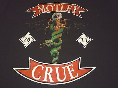 Motley Crue Tour Pocket T-Shirt ( Used Size XL ) Good Condition!!!