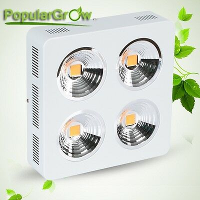 PopularGrow COB 800W LED Grow Light 90° Reflective Indoor veg Plant Growth Lamp