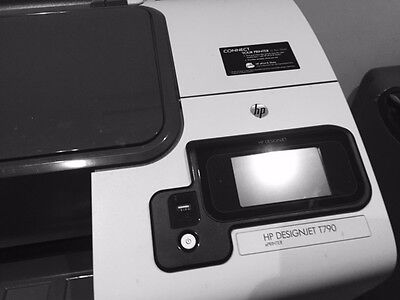 HP A1 printer Designjet 1790 with 4 rolls of paper and 3 cartridges
