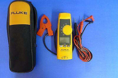Fluke 365 True RMS Clamp Meter Detachable Jaw AC DC w/ Case & Leads