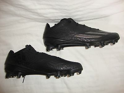 Men's Adidas 5-Star 5.0 Adizero AQ8137 TD Low Football Cleats Size 10.5 - Black