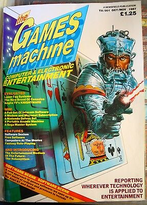 The Games Machine *ultra-rare first issue* TX-001