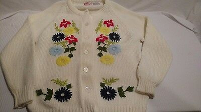 Vintage Woolworth Woolco Knitted Cardigan/ Sweater