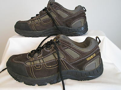 NEVADOS Brown Leather Hiking Boot Shoes Trail Men's Size 9