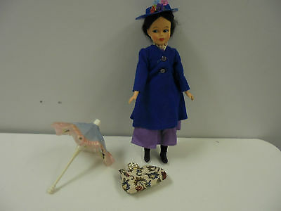 Horsman Mary Poppins Doll Comes With Purse And Umbrella
