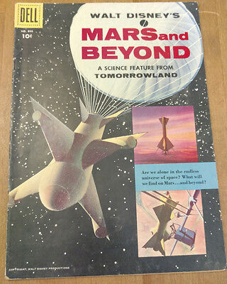 Four Color Comics #866 Walt Disney's Mars And Beyond (Dell 1957) Silver Age