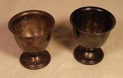 Pair of Silver Plated Egg Cups
