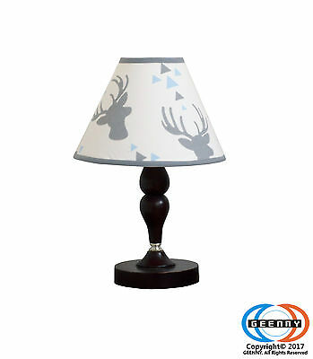 Baby Woodland Deer Arrow Nursery Lamp Shade