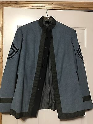 Early 1900's Ridabock & Co Wool Cadet Uniform With Patches Earl S Parke Military