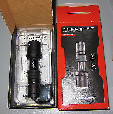 SureFire Z2-S CombatLight LED Flashlight with Strobe - NEW in box - Old stock