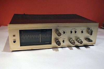 Vintage EARLY 1960 Pioneer SM - Q305 AM FM Tuner Amplifier Tube Audio Stereo