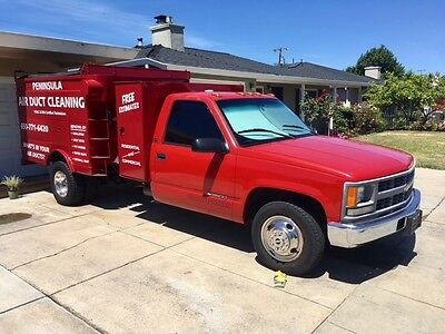 1993 Chevrolet Silverado 3500 Truck Air Duct Cleaning Truck