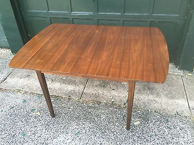 Mid Century Modern Walnut Dining Table Vintage