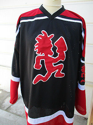 VTG ICP Insane Clown Posse PSYCHOPATHIC RECORDS Jersey Shirt XXXL