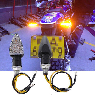 2X LED Turn Signal Side Light Indicator Light Signal Lamp for Motorcycle New