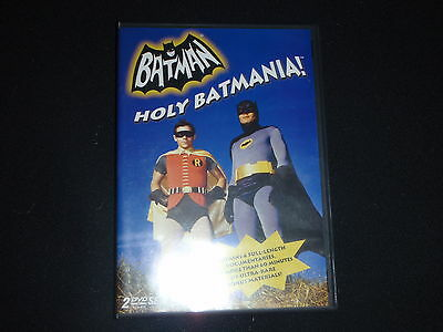 Batman: Holy Batmania Adam West (DVD, 2004, 2-Disc Set) Rare oop