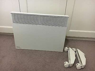 Noirot 1500W Panel Heater With Timer And Casters In As New Condition