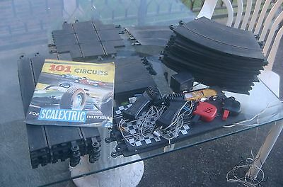 Scalextric Car..plus .. Booklet.. Loads Of Triang Track. & Controllers .vintage