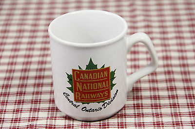 CNR Canadian National Railways COFFEE MUG Central Ontario Division, England MINT
