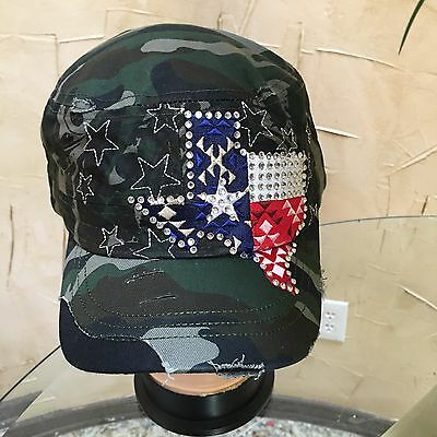 Ladies Mens Adult Army Camouflage Military Fancy Dress Party Costume Hat Cap