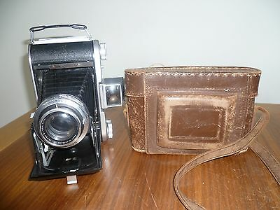 vintage Ensign selfix 820 folding camera with it,s original case.
