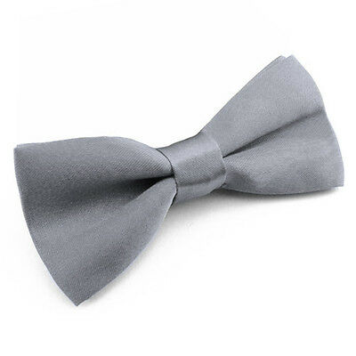 Noeud Papillon Enfant Réglable Gris souris - Children Bow Tie Adjustable Grey