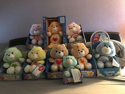 Mega Care Bears vintage in box collection!