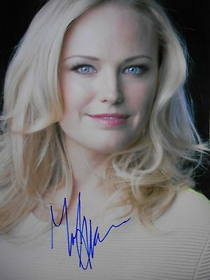 Malin Akerman  8x10 auto photo in Excellent Condition
