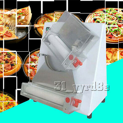 automatic electric pizza dough roller/sheeter machine,pizza making machine