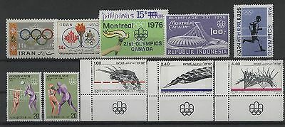 Olympiade 1976, Olympic Games - LOT ** MNH