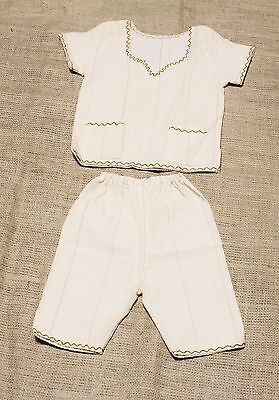 Ethiopian Unisex Cotton Outfit for Kids , African Children Clothing