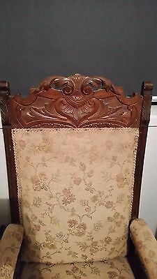Antique/Vintage Edwardian, Gentlemans Arm Chairs