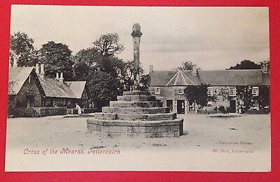 Kincardineshire - Cross of the Mearns, Fettercairn, Old P.O. PC Local Pub. Neil